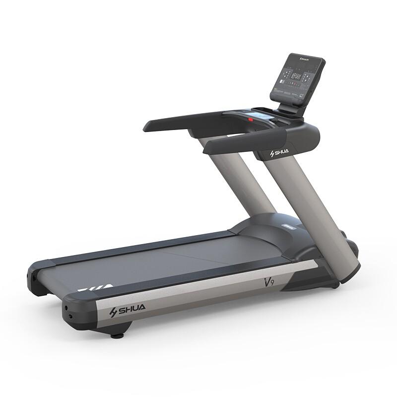 SHUA舒华v9商用跑步机SH-T8919豪华多功能超静音减震健身房专用器材