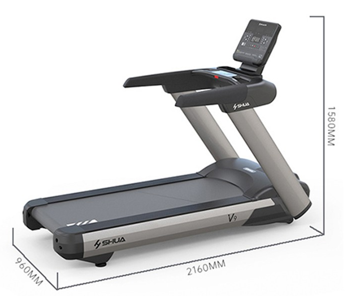 V9商用跑步机多功能豪华商用健身房器材SH-T8919